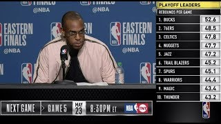 Khris Middleton Press Conference | Eastern Conference Finals Game 4