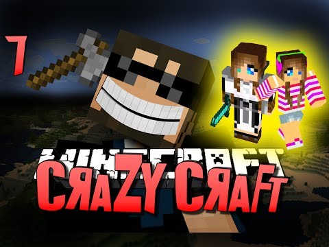 Minecraft CRAZY CRAFT 7 - LETS FIND A GIRLFRIEND(Minecraft Mod Survival)