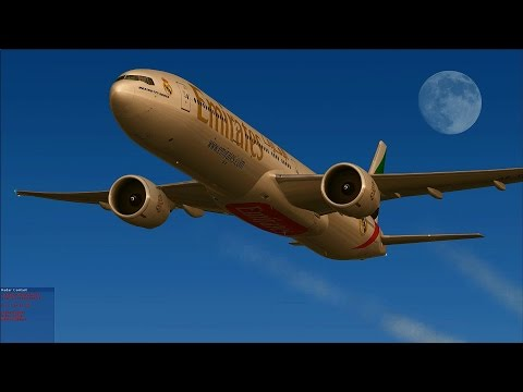 [FSX] Emirates Real Madrid from Dubai to Moscow