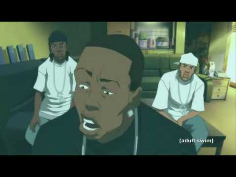 THE BOONDOCKS Soulja Boy Responds To Ice-T CARTOON VERSION Video