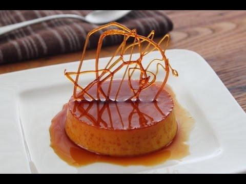 Creme Caramel - Creamy Baked Caramel Custard Dessert Recipe