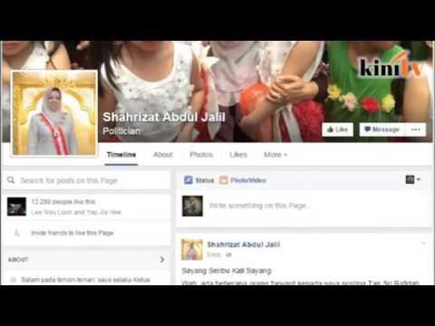 Sharizat disappointed with Rafidah's post on Kedah fiasco