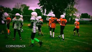 Drew McConkeys 4th Grade Football Highlights 2018