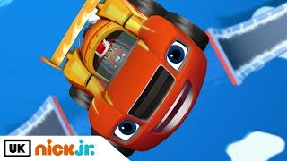 Blaze and the Monster Machines   The Polar Derby   Nick Jr. UK