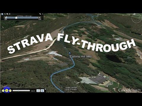 Create a Google Earth flythrough from a Strava activity track