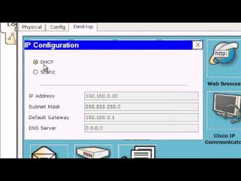 Configuración estática router inalambrico packet tracer.avi