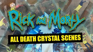 Rick and Morty Season 4: Every Death Crystal Scene
