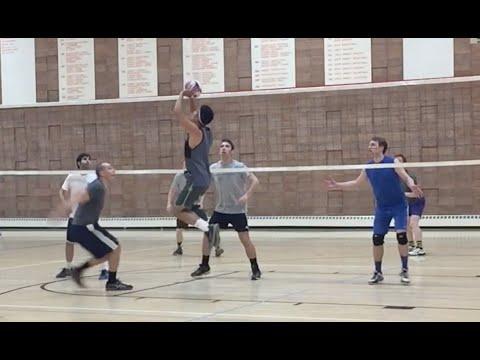 Mental Block vs Tall Ones - NCVA League 4 Volleyball Highlights (4/10/16)