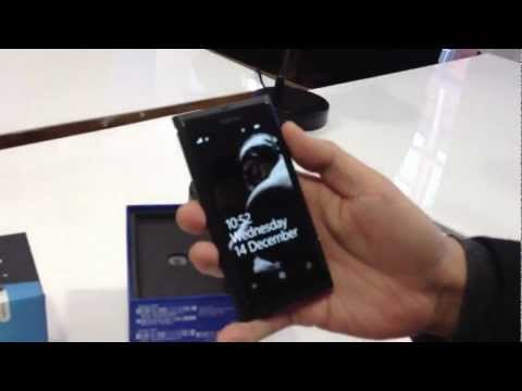 Limited Edition Nokia Lumia 800 Dark Knight Rises quick unboxing