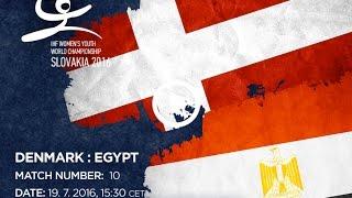 Дания до 18 : Египет до 18