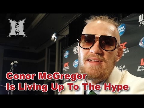 After UFC 178 Conor McGregor Talks Fast Poirier Finish Thumb Injury  Title Fights