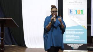 Caroline Mutoko speaks, during the Centonomy Open Day on 21st May