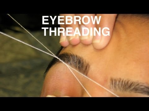 DIY: Perfect Eyebrow Threading at Home   Simple & Easy Tutorial  SuperPrincessjo