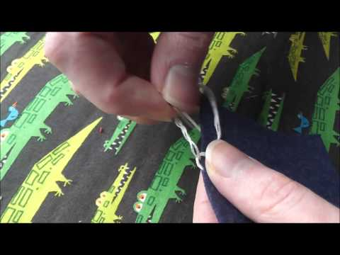 How to Blanket Stitch with No Knots