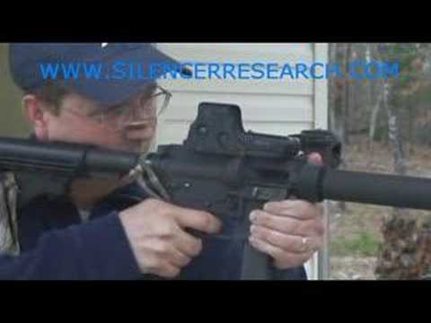 LRM M169 9mm Suppressed Machine Gun from Silencer Research