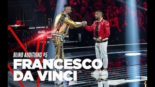 "Francesco Da Vinci  ""L'ammore fa paura"" - Blind Auditions #5 - TVOI 2019"