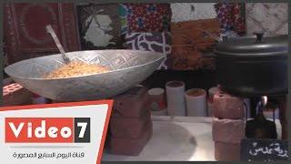 بالفيديو..أول مطعم شعبى بـالزمالك..وزير التموين أشهر الزبائن و«الطبخ على وابور»
