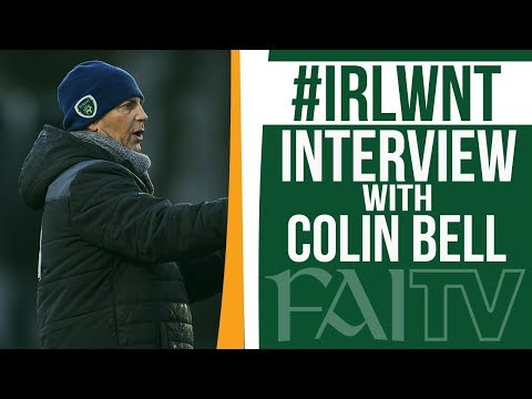 #IRLWNT Interview | Colin Bell praises 3-1 victory over Portugal