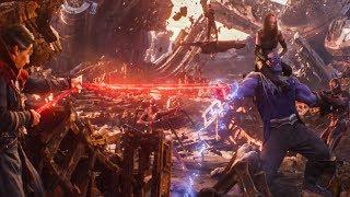 Avengers Infinity War FIGHT SCENES!!!!