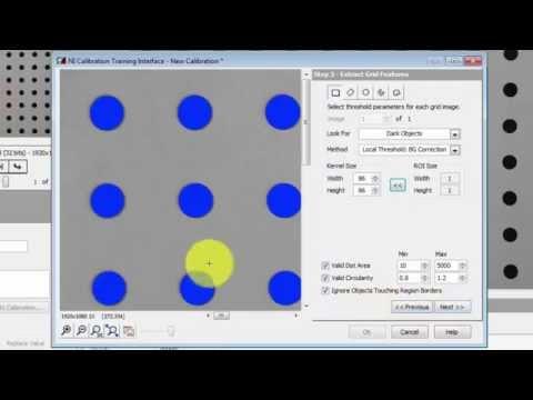 NI Vision: Grid Calibration