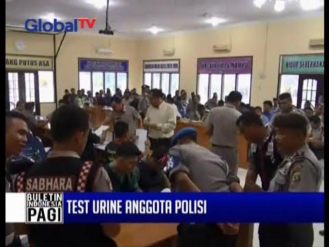 Tes Urin Dadakan, 15 Polisi Terindikasi Memakai Narkoba - BIP 20/11