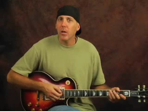 Guitar Artificial Harmonic Licks ala Billy Gibbons ZZ Top