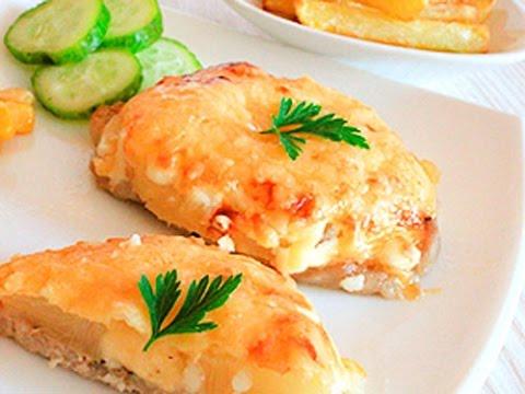 Свинина с ананасами в духовке. http://leoanta.ru/