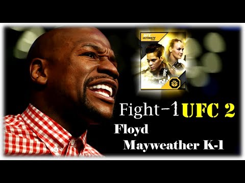 UFC 2 Турнир К-1(Floyd Mayweather)Флойд Майвезер+Пак(Pack) 1000point