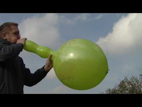 b2p 16 inch balloon - applegreen punchballoon