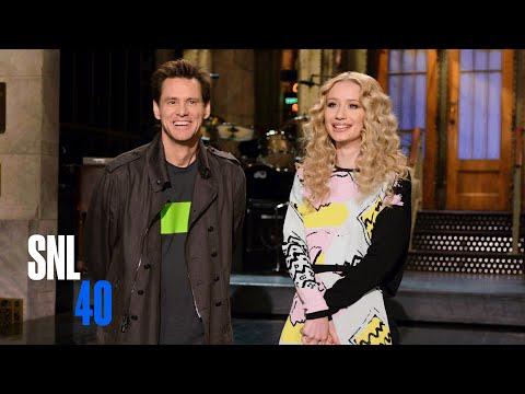 Jim Carrey & Iggy Azalea's 'SNL' Promo