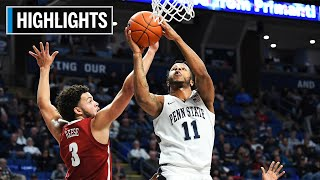 Highlights: Stevens Earns Double-Double in Win | Alabama at Penn State | Dec. 14, 2019