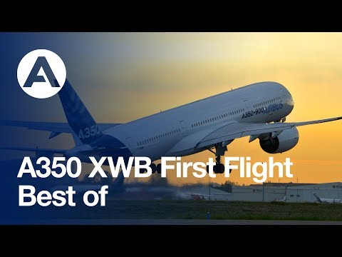 A350 XWB first flight - best of 14 June 2013