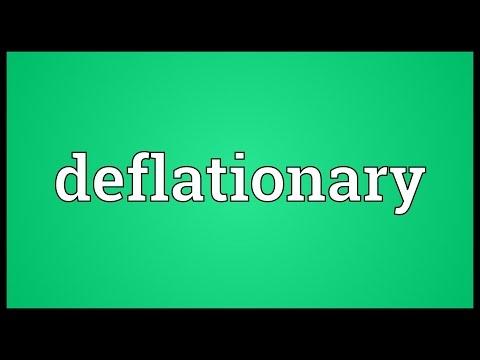 Header of deflationary
