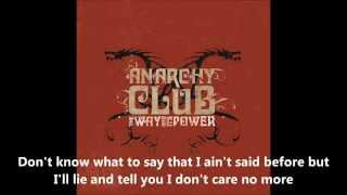 Watch Anarchy Club Through Windows Clear video