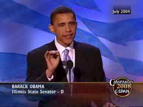 C-SPAN: Barack Obama Speech at 2004 DNC Convention