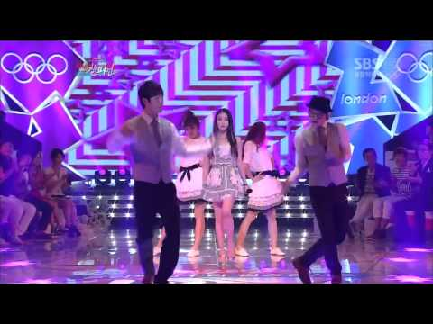 Live HD | 120728 IU - Good Day @ SBS 2012 London Olympic We Are The Champion Concert