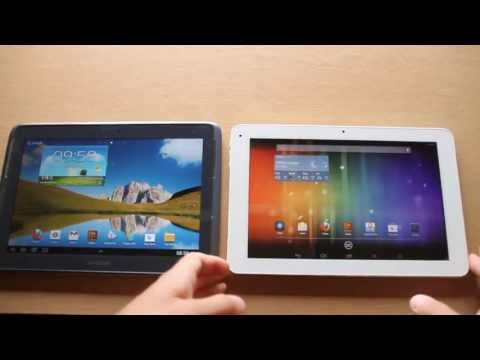 Cube U30GT2 vs Samsung Note 10.1 review