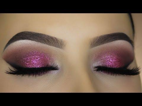 Sultry Smokey Berry Eye Makeup Tutorial - NATASHA DENONA LILA PALETTE