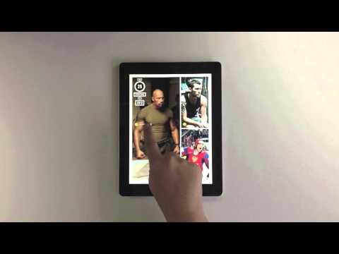 Men's Fitness iPad Magazine
