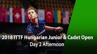 2018 Hungarian Junior Cadet open D2-PM