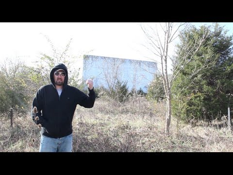Drive In Movie Theatre - ABANDONED - Protected By Thorns