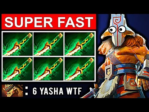 SUPER FAST 6 YASHA JUGGERNAUT PATCH 7.08 DOTA 2 NEW META GAMEPLAY #14 (FUNNY MOMENTS)