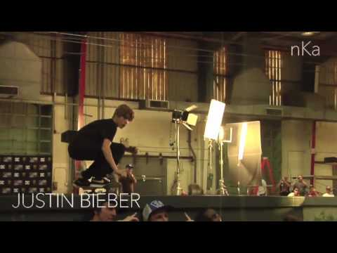 Justin bieber switch 180 over Rob dyrdek, Terry Kennedy and Greg Lutzka