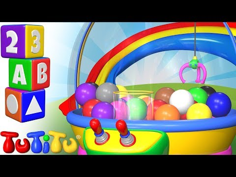TuTiTu Preschool | Learning Colors for Babies and Toddlers | Crane Game