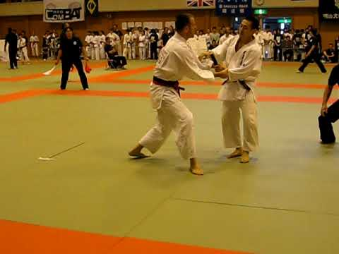 Morgan vs Yamada 2009 International Aikido Tournament men's randori round 2 Image 1