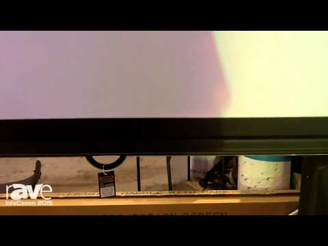 InfoComm 2015: OMA Automation Discusses Its Projection Screens