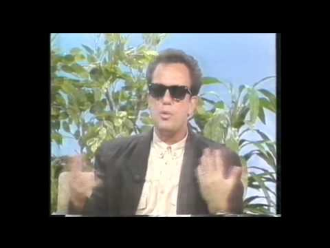 Billy Joel Australian TV interview 1987