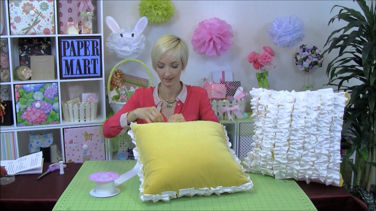 how to make a pillow out of paper