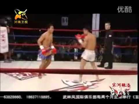 Muay Thai VS Sanda Kung Fu @ China 2011 Image 1