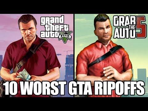 10 Worst Grand Theft Auto Rip Offs!